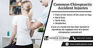 Common Chiropractic Accident Injuries