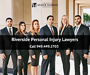Experienced Riverside Personal Injury Lawyers