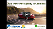 Auto Insurance Agency in California