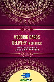 Wedding card delivery