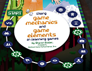 Using Game Mechanics and Game Elements in Learning Games
