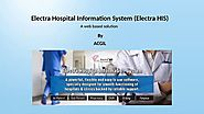 Requirement of 2019: Hospital Management Information System