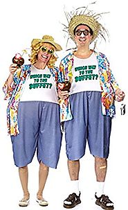Adult Tacky Traveler Costume - One Costume per package
