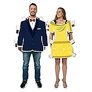 Royal Dress and Suit Paper Doll Couples Kit