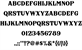 FHA Nicholson French NCV font by the Fontry - FontSpace