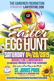 The 1st Annual Gardiner Foundation Easter Egg Hunt in the Bronx Community