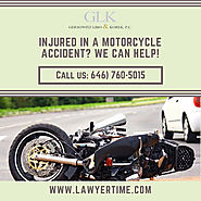 Motorcycle Accident Lawyer in New York - GLK Law