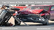 Causes of Auto Accident In New York- GLK Law