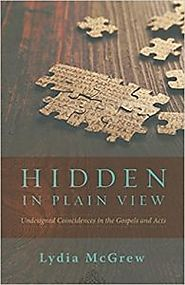 Question and Answer with Lydia McGrew on Hidden in Plain View
