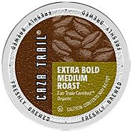 Caza Trail Coffee, Organic Extra Bold Medium Roast