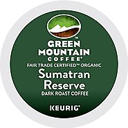 Green Mountain Coffee Sumatran Reserve Keurig Single-Serve K-Cup Pods - Dark Roast