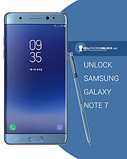 Unlocking Samsung Galaxy Note 7