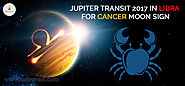 Jupiter Transit 2017 in Libra For Cancer Moon Sign - AstroVed.com