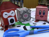 Papercraft with the Manga Appreciation Society