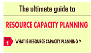 What is resource capacity planning? The Kelloo ultimate guide to resource planning answers this common question and m...