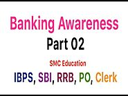 Banking Awareness Part 02 - PO | Clerk | IBPS | RRB | SBI Banking GK in Hindi