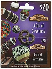 Rocky Mountain Chocolate Factory Gift Card - $20