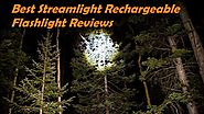 Best Streamlight LED Rechargeable Flashlight Review - Best Red Flashlight Review