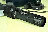 Most Powerful Best Rechargeable Flashlight Reviews - Best Red Flashlight Review