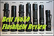 Best 18650 Flashlight Review 2017 - Best Red Flashlight Review