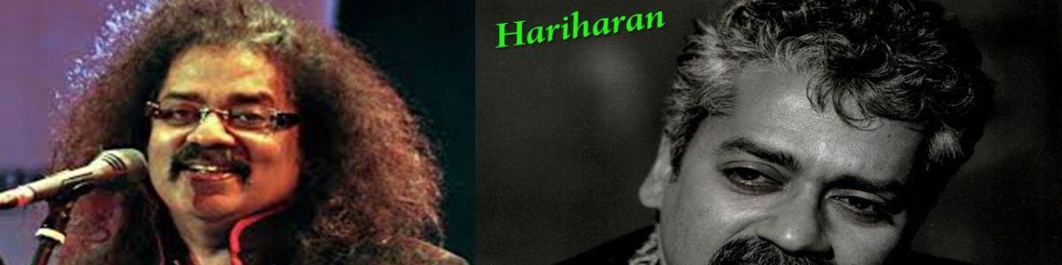 Headline for Hariharan Unplugged