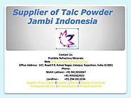 Supplier of Talc Powder Jambi Indonesia