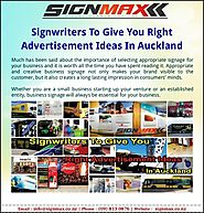 Signwriters auckland