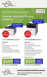 Affordable Online Print Solutions with Ecotech
