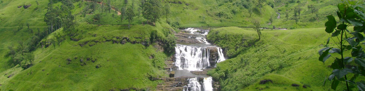 Headline for Waterfalls in and Around Nuwara Eliya – Silver Cascades to Admire