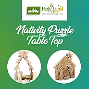 Great Nativity Puzzle Table Top By HolyLand Imports