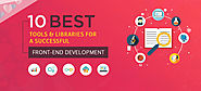 10 Best Tools for Successful Front-End Development | TechnoBeep