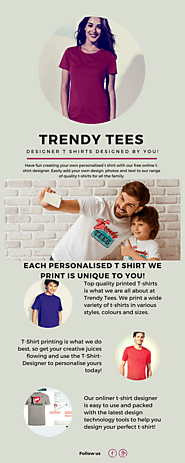 Personalised t shirt UK - Trendy t-shirts
