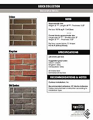 Make your Home gorgeous with beautiful bricks from Impex Stone!
