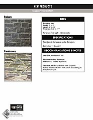 Make Your Home Beautiful with Natural Stone Masonry Collection!