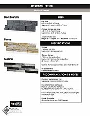Impex Stone offers Quality Natural Stone wall tiles
