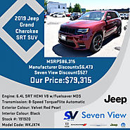 2019 Jeep Grand Cherokee SRT SUV