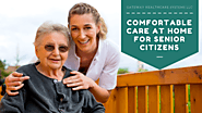 Comfortable Care at Home for Senior Citizens