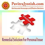 Remedial Solution for Personal Issue