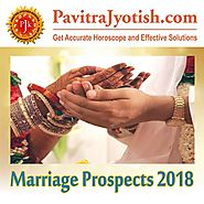 Marriage Prospects 2018