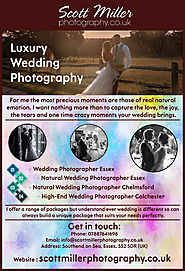 Wedding Photographer Southend
