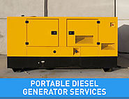 Power Backup Diesel Generator Services in India | Innovatiview.com