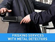 Metal Detector and Security frisking equipment solutions in Delhi India