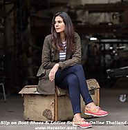 Slip on Boat Shoes & Ladies Sneakers Online Thailand