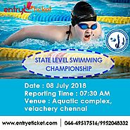 State Level Swimming Championship - Sub Juniors and Juniors | Registration By Entryeticket
