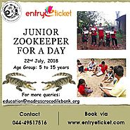 Junior Zookeeper for a Day - 2018 | Entry via www.entryeticket.com