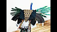 E-waste Art | Peacock Made using 100% E-waste | HD Video