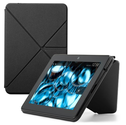 "Amazon Kindle Fire HDX Standing Polyurethane Origami Case (will only fit Kindle Fire HDX 7""), Mineral Black"