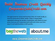 Build Business Credit Quickly - CorporateCashCredit.com