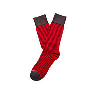 Dress Socks (RED) - Peruvian Pima Cotton