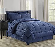 Elegant Comfort Wrinkle Resistant - Silky Soft Beautiful Design Complete Bed-in-a-Bag